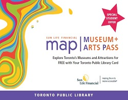 Sun Life Financial's MAP (Museum + Arts Pass) Program